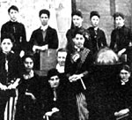 Early Students of St. Ann's Academy 1870's