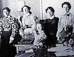 St. Ann's Academy Commercial Class, 1894