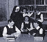 Sister with Students