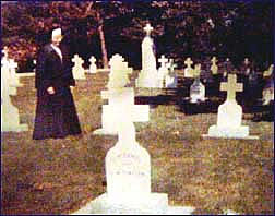 Ross Bay Cemetery w. a visiting Sister, 1964