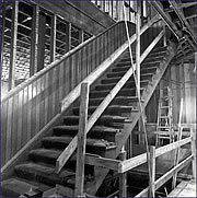 The Novitiate Staircase during renovation