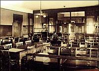 St. Ann's Academy Commercial Classroom, 1934