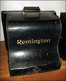Remington Typewriter Cover