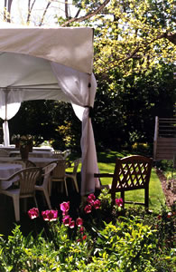 Novitiate Garden tented reception